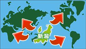 新潟から世界へ